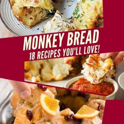 Sweet & Savory Monkey Bread Recipes