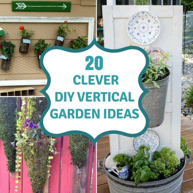 20 DIY Vertical Garden Ideas To Drastically Increase Your Growing ...