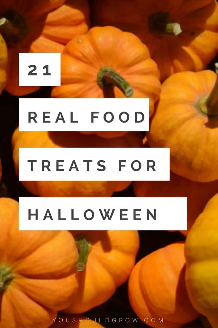 21 real food treats for Halloween