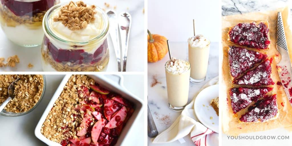 Thanksgiving Leftovers Recipes - Desserts