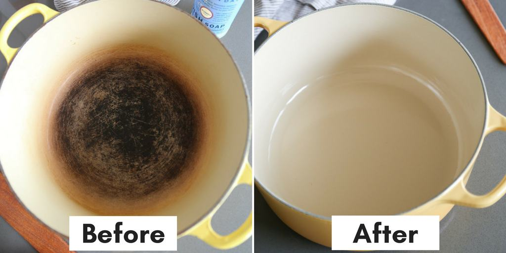 Easy cleaning tips and hacks: enameled dutch oven