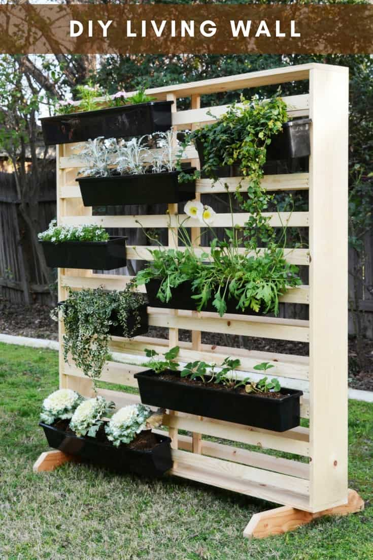 20 DIY Vertical Garden Ideas To Drastically Increase Your ...