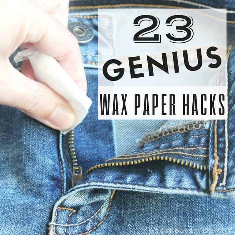 23 Genius Wax Paper Hacks You Have To Try
