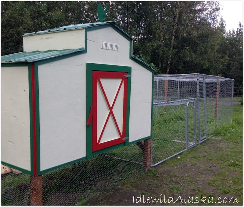 image of chicken coop by idlewild alaska