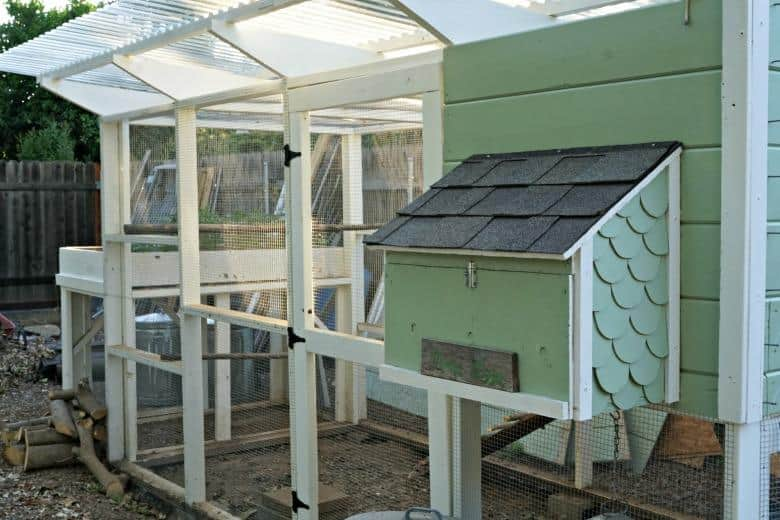 urban chicken coop idea