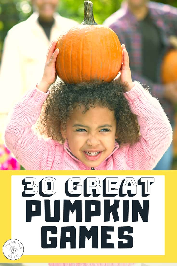 30 Great pumpkin games for fall!